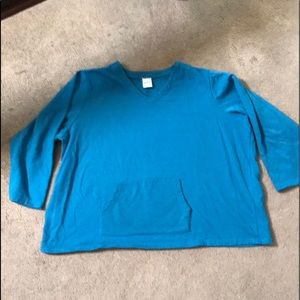 Blair blue long sleeved sweatshirt 3XL